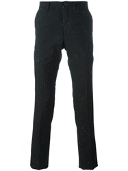 Paul Smith Ps By Pinstripe Trousers Black