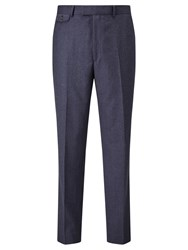 Chester Barrie By Flannel Wool Tailored Suit Trousers Airforce