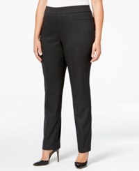 Jm Collection Plus Size Pull On Slim Leg Pants Only At Macy's Elmer Stripe