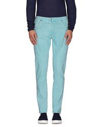 Just Cavalli Denim Denim Trousers Men Turquoise