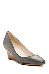 Cole Haan Catalina Pointed Toe Wedge Metallic