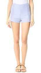 Minkpink French Twist Hot Shorts Blue White