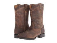 Ariat Heritage Roper Distressed Brown Cowboy Boots