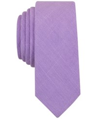 Penguin Men's Dario Solid Slim Tie Lilac