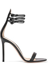 Gianvito Rossi Leather Sandals Black