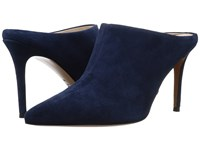 Marc Fisher Tiffy Navy Suede Women's Shoes Blue