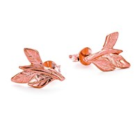 Chupi Wrap Your Laurels Around Me Stud Earrings In Rose Gold