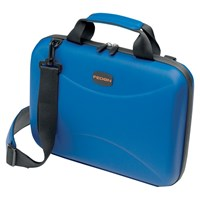 Fedon1919 Techbag 13' Laptop Hard Briefcase Blue