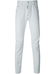 Dsquared2 'Tidy Biker' Jeans White