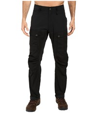 Fjall Raven Keb Trousers Regular Black Black Men's Casual Pants