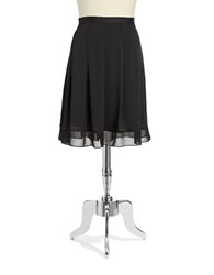 Jones New York Plus Pleated Skirt Black