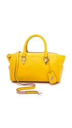 Diane Von Furstenberg Sutra Small Duffel Bag Canary Yellow