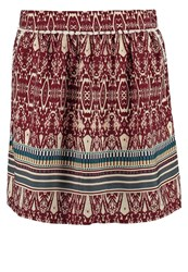 Naf Naf Mini Skirt Bordeaux