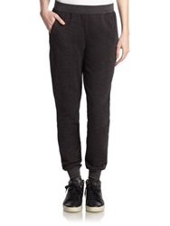 Atm Anthony Thomas Melillo Slim Fit Sweatpants Charcoal