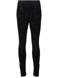 Ralph Lauren Black Label Skinny Trousers Black