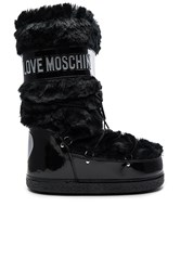 Love Moschino Faux Fur Snow Boot Black