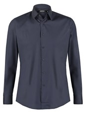 Karl Lagerfeld Lagerfeld Firenze Slim Fit Formal Shirt Dark Navy Dark Blue