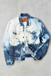 Levi's Bleached Denim Trucker Jacket Indigo