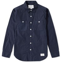 Neighborhood Classic Dot Shirt Blue