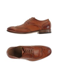 N.D.C. Made By Hand Footwear Lace Up Shoes Men Tan