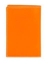 Comme Des Garcons Wallet 'New Super Fluo' Wallet Yellow And Orange