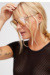 Free People Womens Forget Me Not Aviator