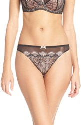 Women's B.Tempt'd By Wacoal 'B Sultry' Lace Front Thong 3 For 45