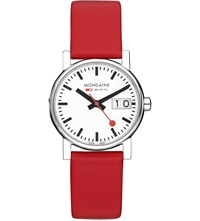 Mondaine A6693030511sbc Unisex Evo Big Date Watch White