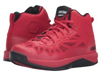 And 1 Fantom Ii F1 Red Black Men's Basketball Shoes