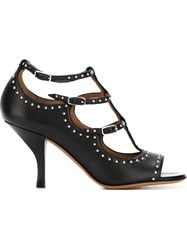 Givenchy Studded Strappy Sandals Black