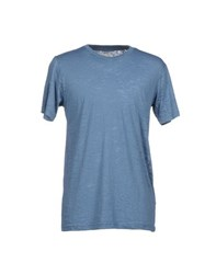 Master Coat Topwear T Shirts Men Slate Blue