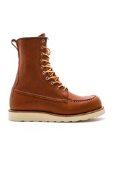Red Wing Shoes 8 Inch Classic Moc Cognac