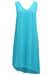 Evans Maxi Dress Green Light Blue