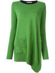 Hache Oversized Jumper Green