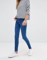 New Look Blue Wash Jegging Mid Blue