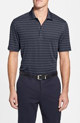 Men's Big And Tall Cutter And Buck 'Franklin' Stripe Drytec Polo