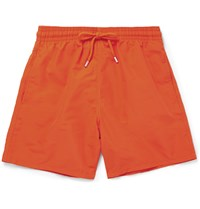 Vilebrequin Moorea Mid Length Swim Shorts Orange