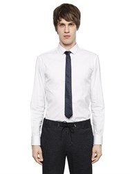 Emporio Armani Stretch Cotton Poplin Shirt
