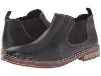 Rieker B1282 Nero Clarino Bordeaux Kid Men's Pull On Boots Brown
