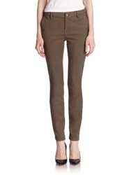 Joie Skinny Twill Trousers Fatigue
