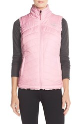 The North Face Women's 'Mossbud' Reversible Vest Coy Pink