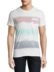 Sol Angeles Flag Cotton Tee White Multi