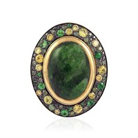 Nol Jewellers Candy Dark Green Ring