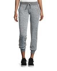 Marc Ny Performance Heathered Jogger Pants Marled Gray