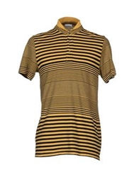 Gold Case By Rocco Fraioli T Shirts Ocher