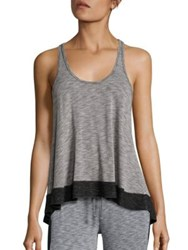 Beyond Yoga Racerback Tank Top Heather Grey