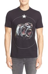 Men's Givenchy 'Monkey' Graphic T Shirt Black