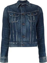 Citizens Of Humanity Chest Pockets Denim Jacket Blue