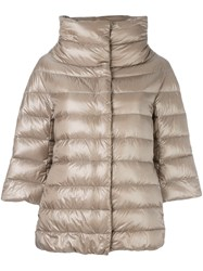 Herno Padded Jacket Nude And Neutrals