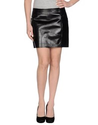 Maison Martin Margiela Mm6 By Maison Margiela Mini Skirts Black